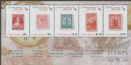 NZ SGMS2776 150 Years of New Zealand Stamps (1st issue) miniature sheet